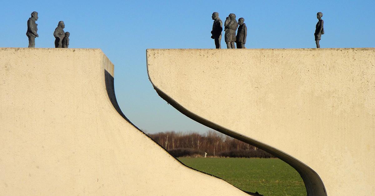 "Grenzdenkmal ""Begegnung"" bei Widelah"