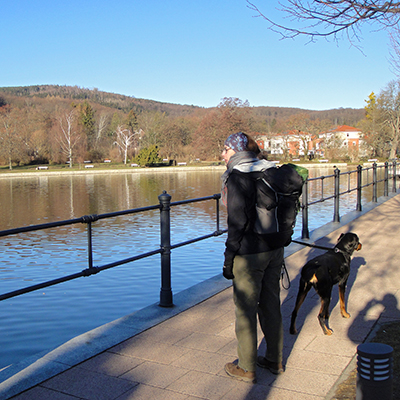 Wanderer in Ilsenburg