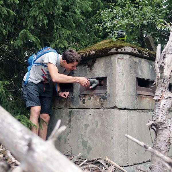 Eine Bunkeranlage bei Ilsenburg