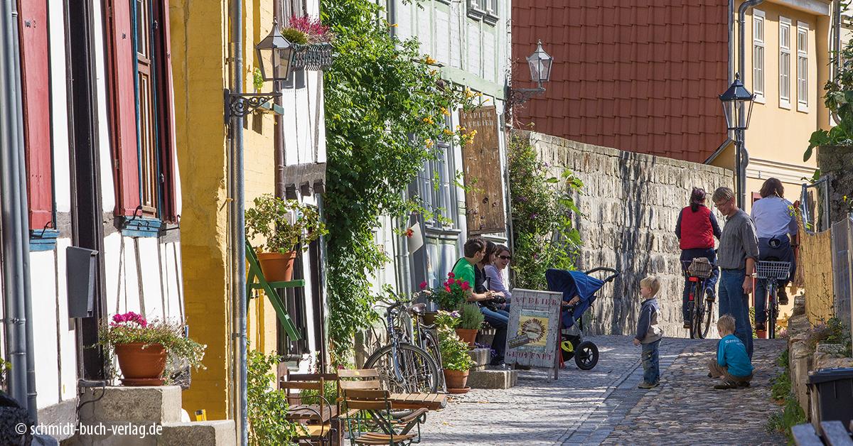 Kunsthandwerker-Gasse in Quedlinburg