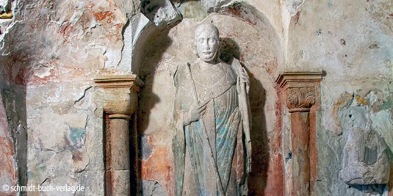 Grab in der Stiftskirche Gernrode (Ausflüge Quedlinburg)