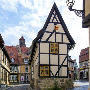 Quedlinburg Fachwerkhaus am Finkenherd
