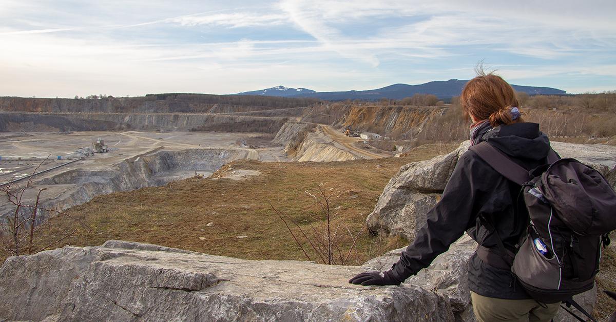 Steinbruch bei Elbingerode