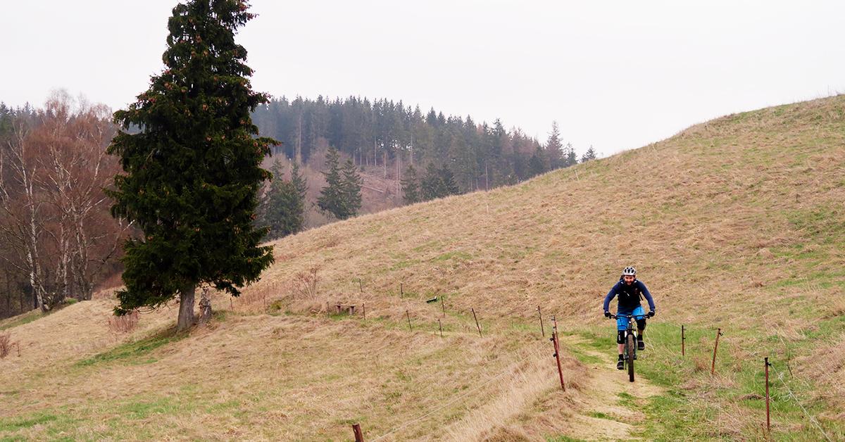 An der Grube Glasebach (MTB-Tour-Ostharz)