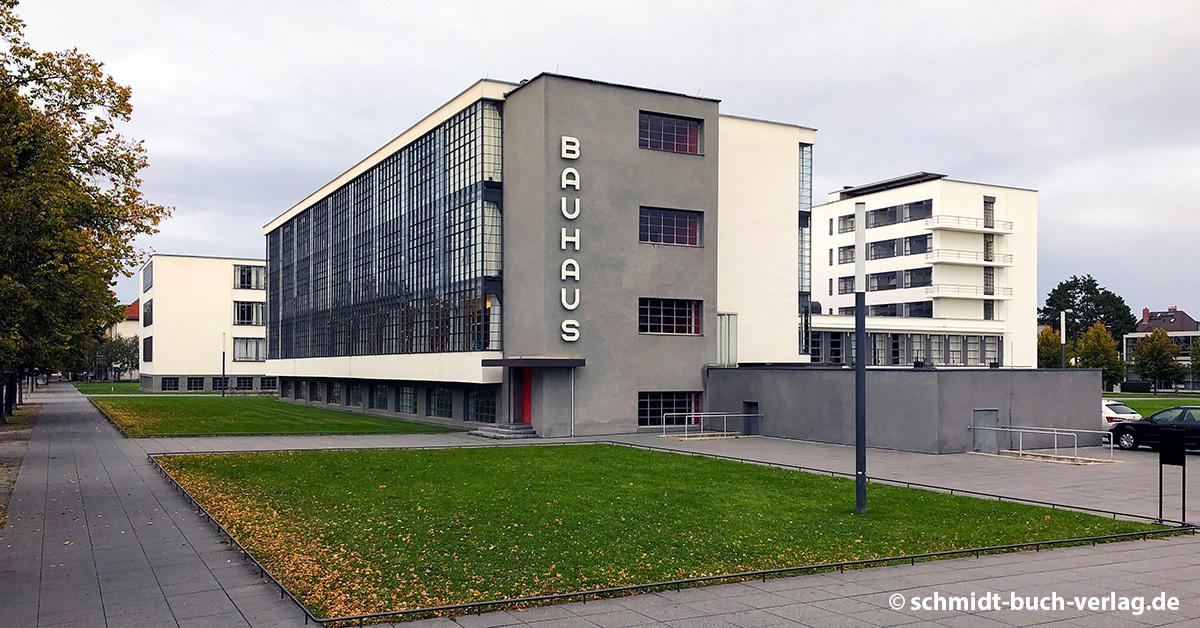 Das Bauhaus-Gebäude in Dessau