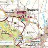 Kartenbildmuster der offiziellen Wanderkarte zum Harzer Klosterwanderweg
