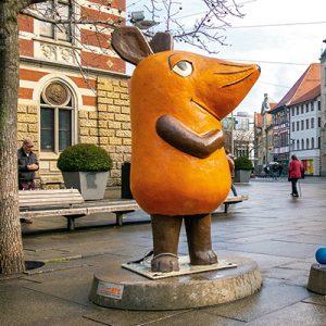 Erfurt: KiKA-Figuren, Sendung mit der Maus