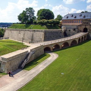 Bastion auf dem Erfurter Petersberg (Buga 2021)