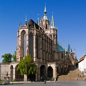 Erfurter Dom mit Domstufen