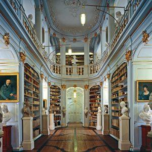 Die Herzogin Anna-Amalia-Bibliothek in Weimar