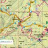 Kartenbild der offiziellen Stempel-Touren-Karte zur Harzer Wandernadel