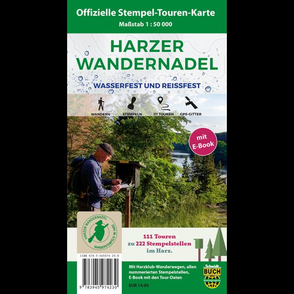 Titelbild der offiziellen Stempel-Touren-Karte zur Harzer Wandernadel