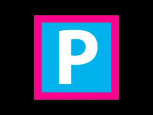 Parkplatz-Zeichen aus der offiziellen Stempel-Touren-Karte zur Harzer Wandernadel