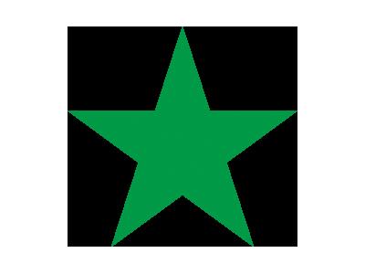 Ein grüner Stern