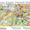 Kartografische Ausstattung der Fahrradkarte Harz
