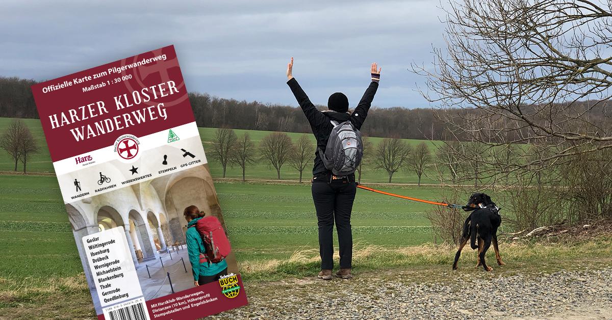 Auf Recherche zur Klosterwanderweg-Karte.