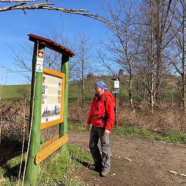 Auf Recherche zur Klosterwanderweg-Karte