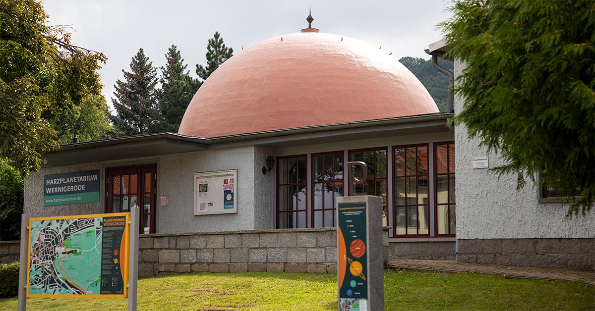 Das Planetarium am Planetenweg Wernigerode