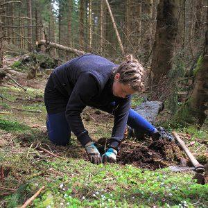 Pflanzung Bergwaldprojekt © Nationalpark Harz, Mandy Gebara