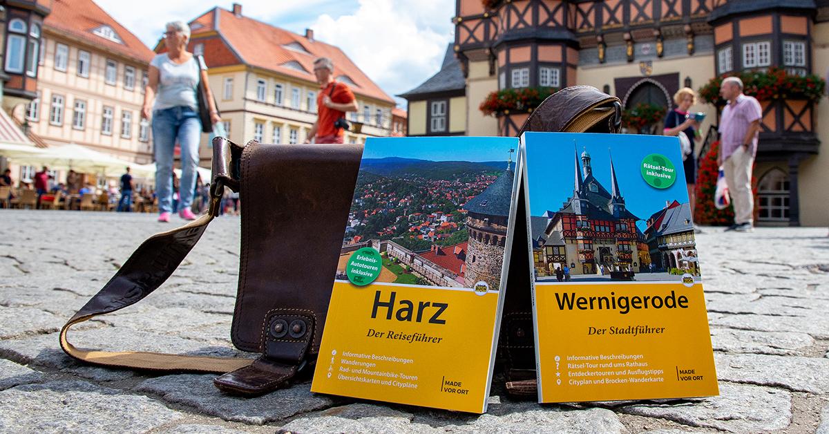 Der Reiseführer Harz und der Reiseführer Wernigerode